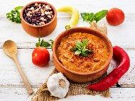 Бабина рецепта за боб в гърне със зеленчуци